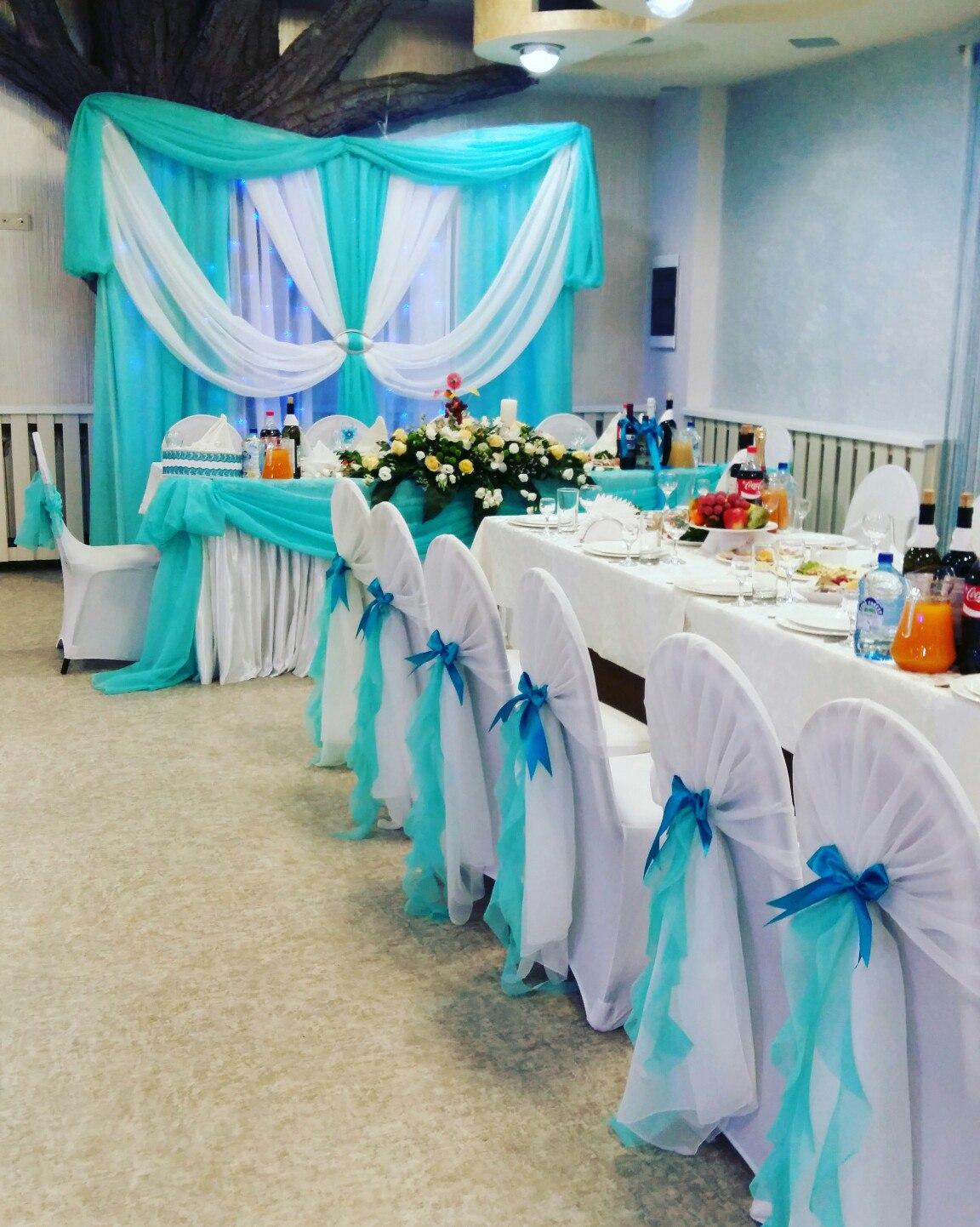 Украшение зала на свадьбу коломна