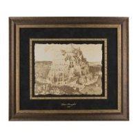 Black Art Реплика картины Питера Брейгеля Вавилонская башня