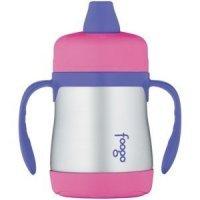 Thermos Поильник с ручками Foogo Phases №1 Pink 0.23 л