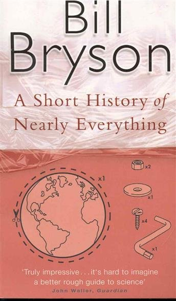 a comparison of a short history of nearly everything by bill bryson and frankenstein by mary shelley