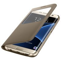 Samsung S View Cover S7 Edge Gold (EF-CG935PFEGRU)